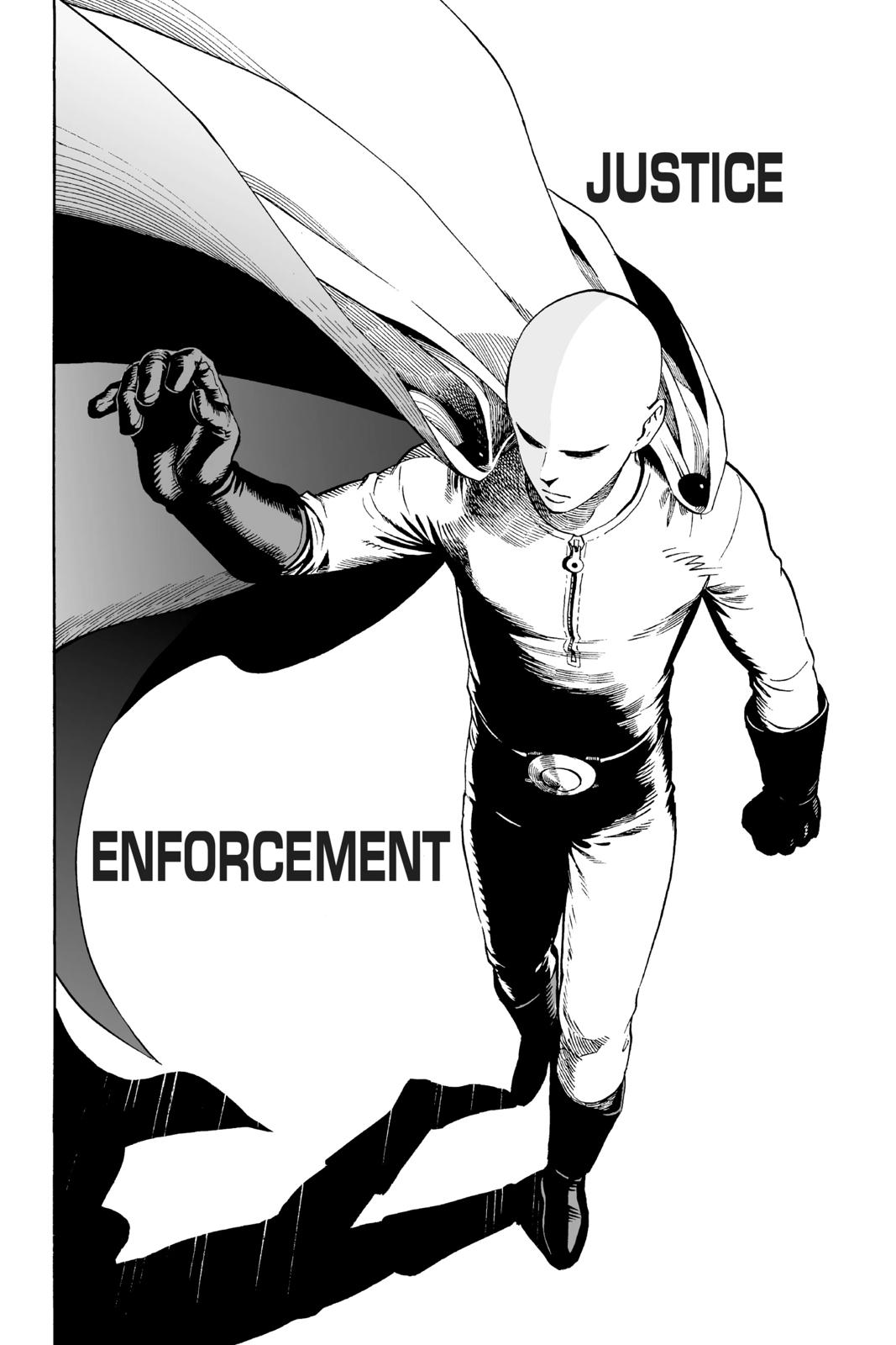 One-Punch Man, Chapter 1 image 012