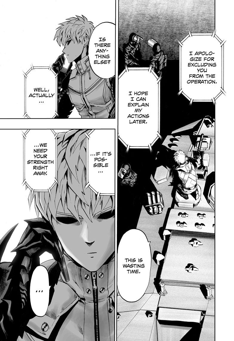 One-Punch Man, Chapter 118 image 015