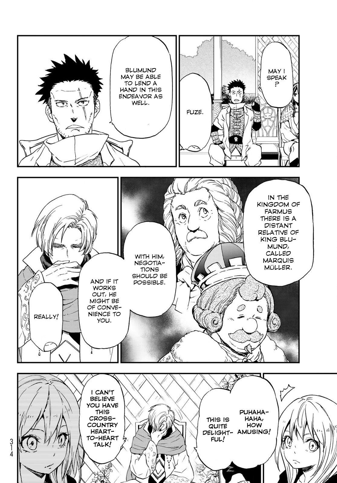 Tensei shitara Slime Datta Ken, Chapter 74 image 046