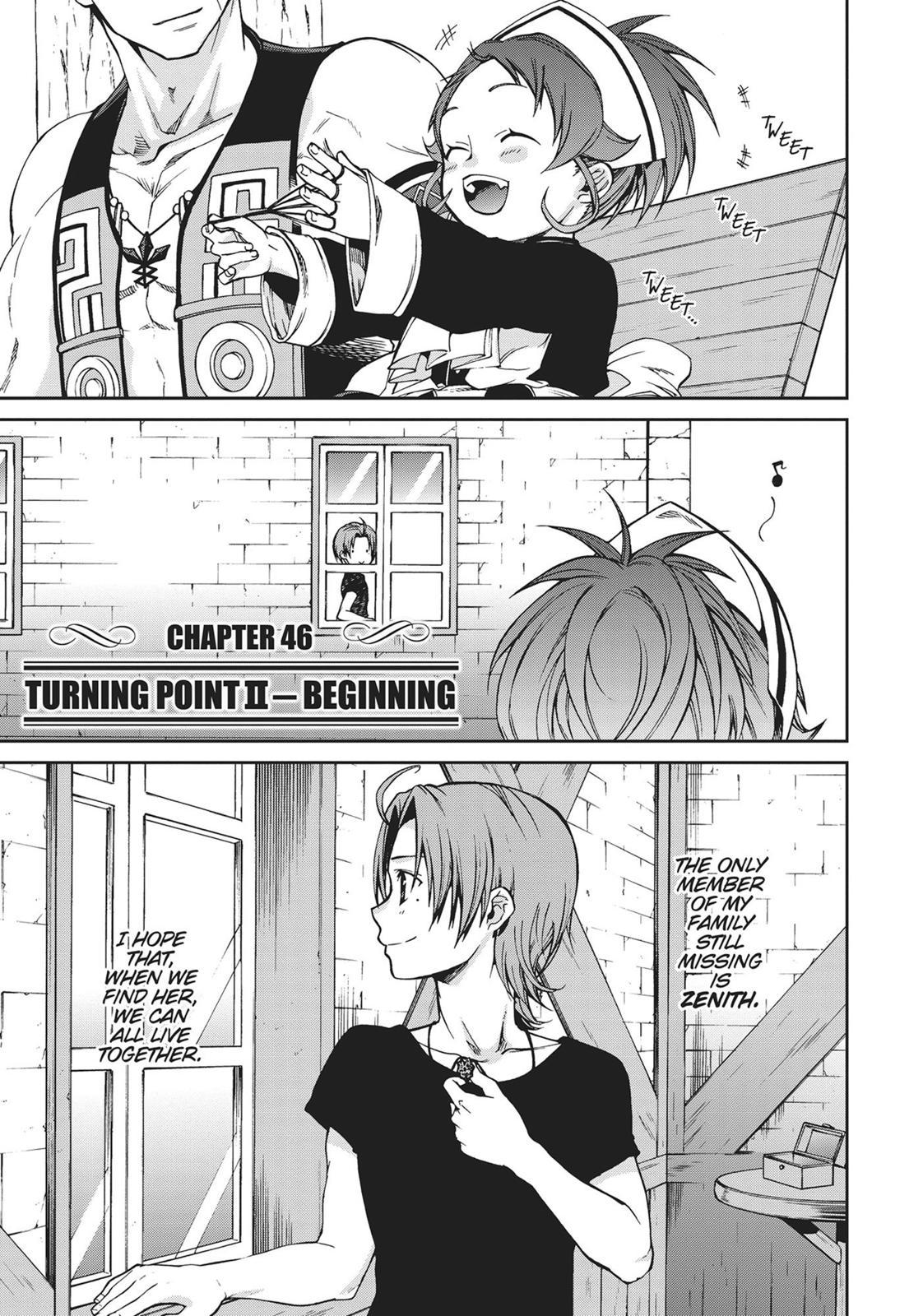 Mushoku Tensei, Chapter 46 image 001