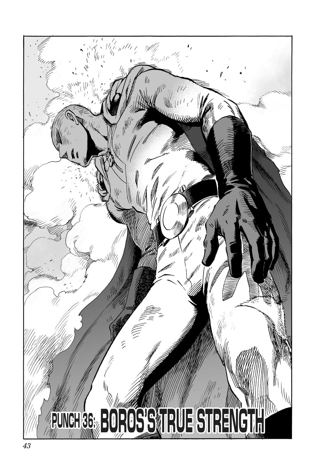 One-Punch Man, Chapter 36 image 001