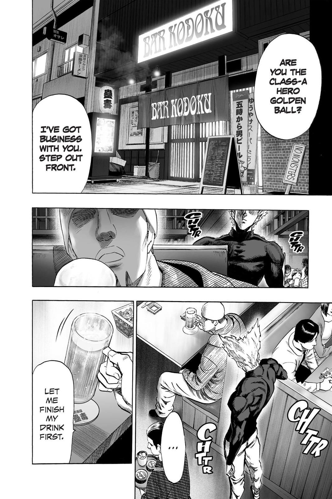 One-Punch Man, Chapter 50 image 002
