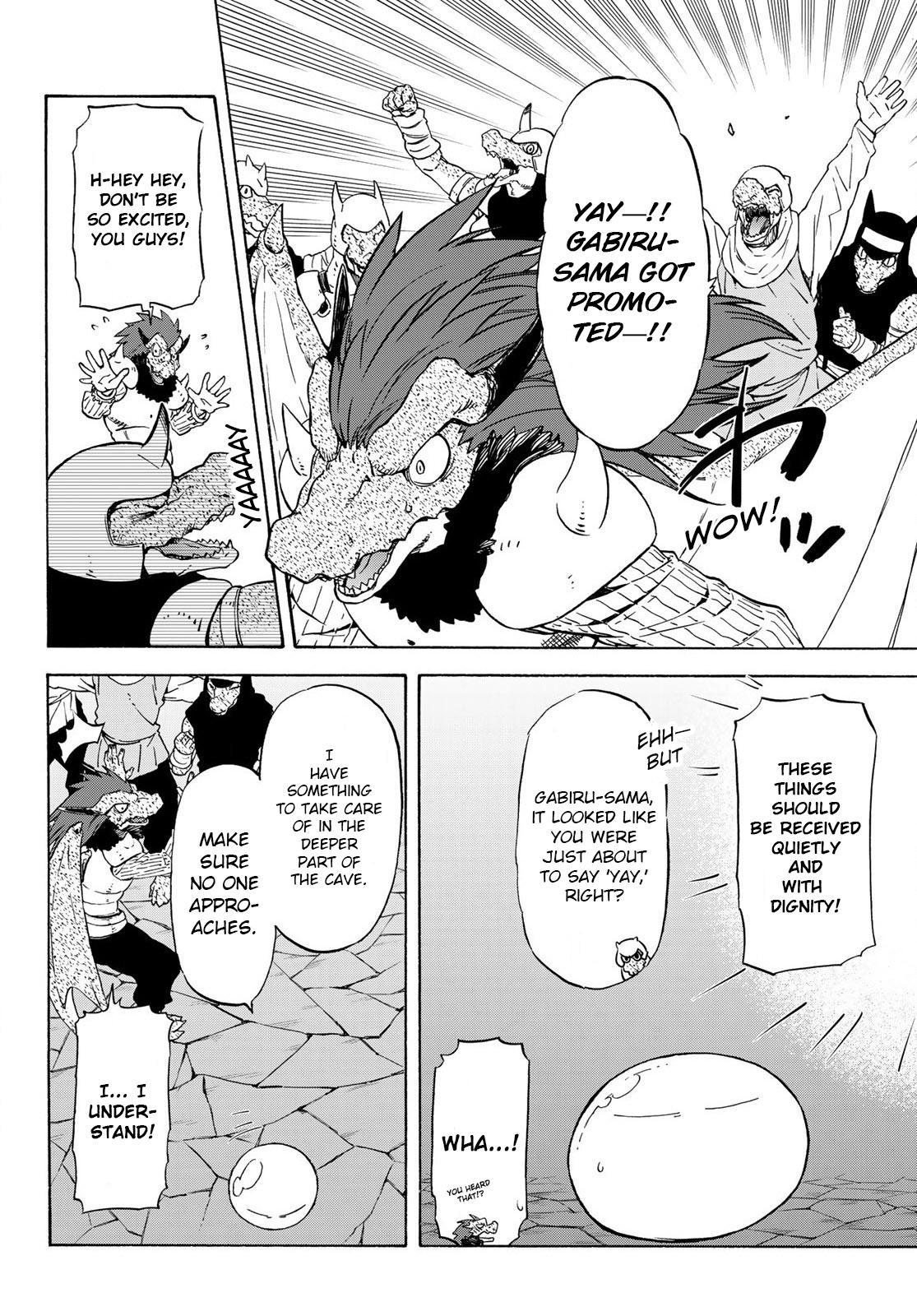 Tensei shitara Slime Datta Ken, Chapter 71 image 012