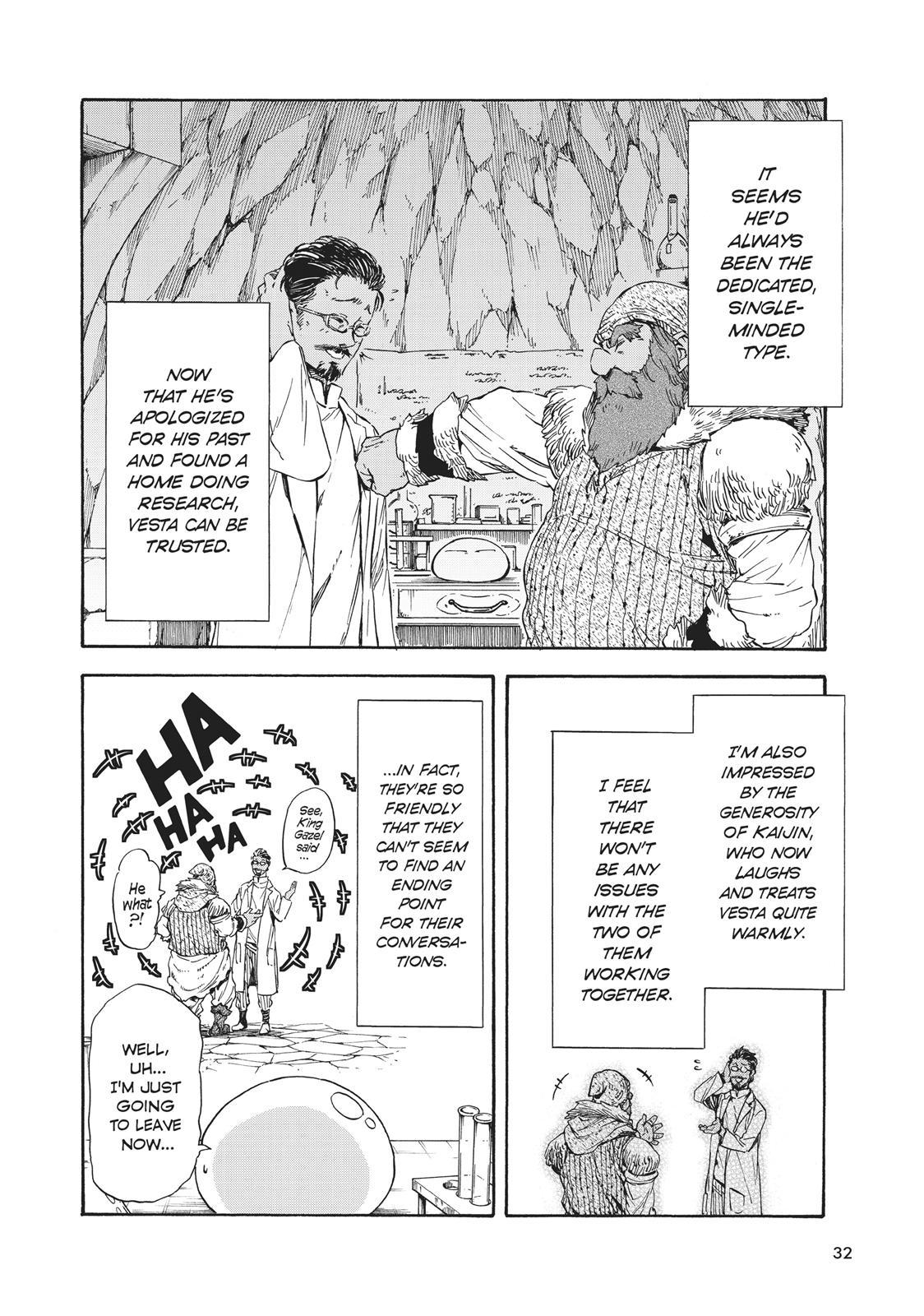 Tensei shitara Slime Datta Ken, Chapter 32 image 032