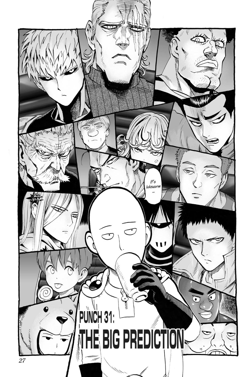 One-Punch Man, Chapter 31 image 001