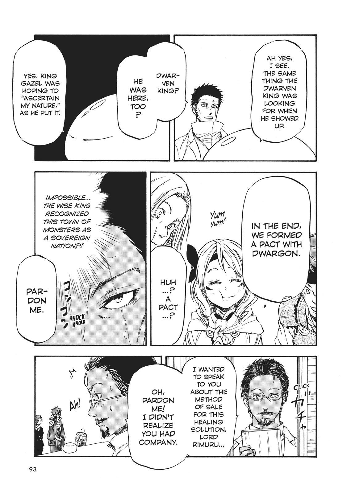 Tensei shitara Slime Datta Ken, Chapter 34 image 033