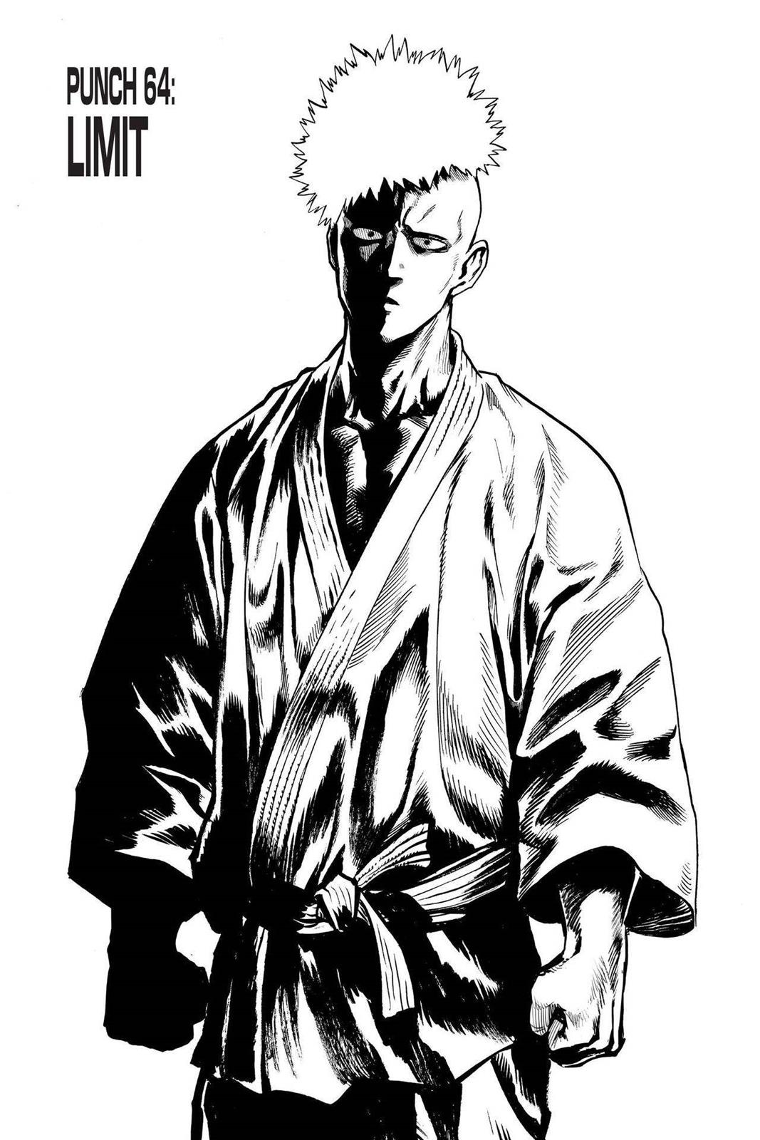 One-Punch Man, Chapter 64 image 001