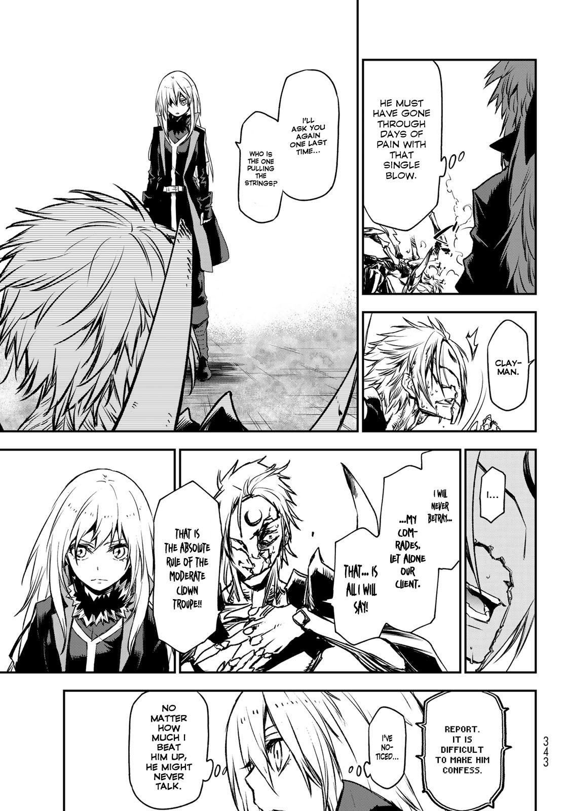 Tensei shitara Slime Datta Ken, Chapter 85 image 015