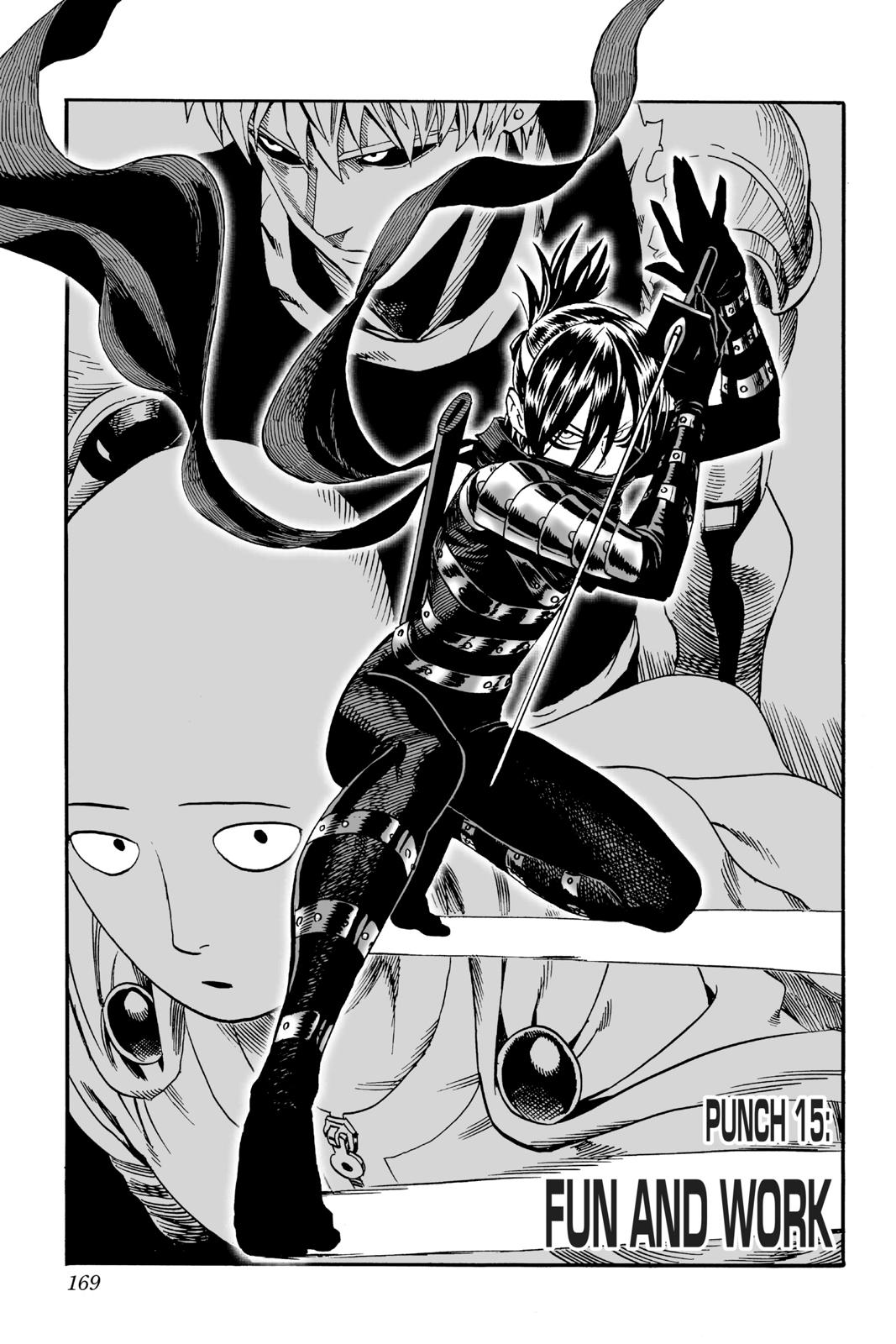 One-Punch Man, Chapter 15 image 001