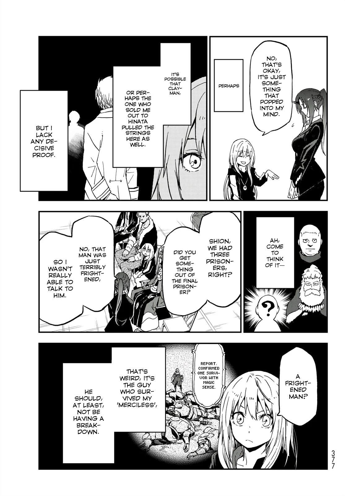 Tensei shitara Slime Datta Ken, Chapter 75 image 029