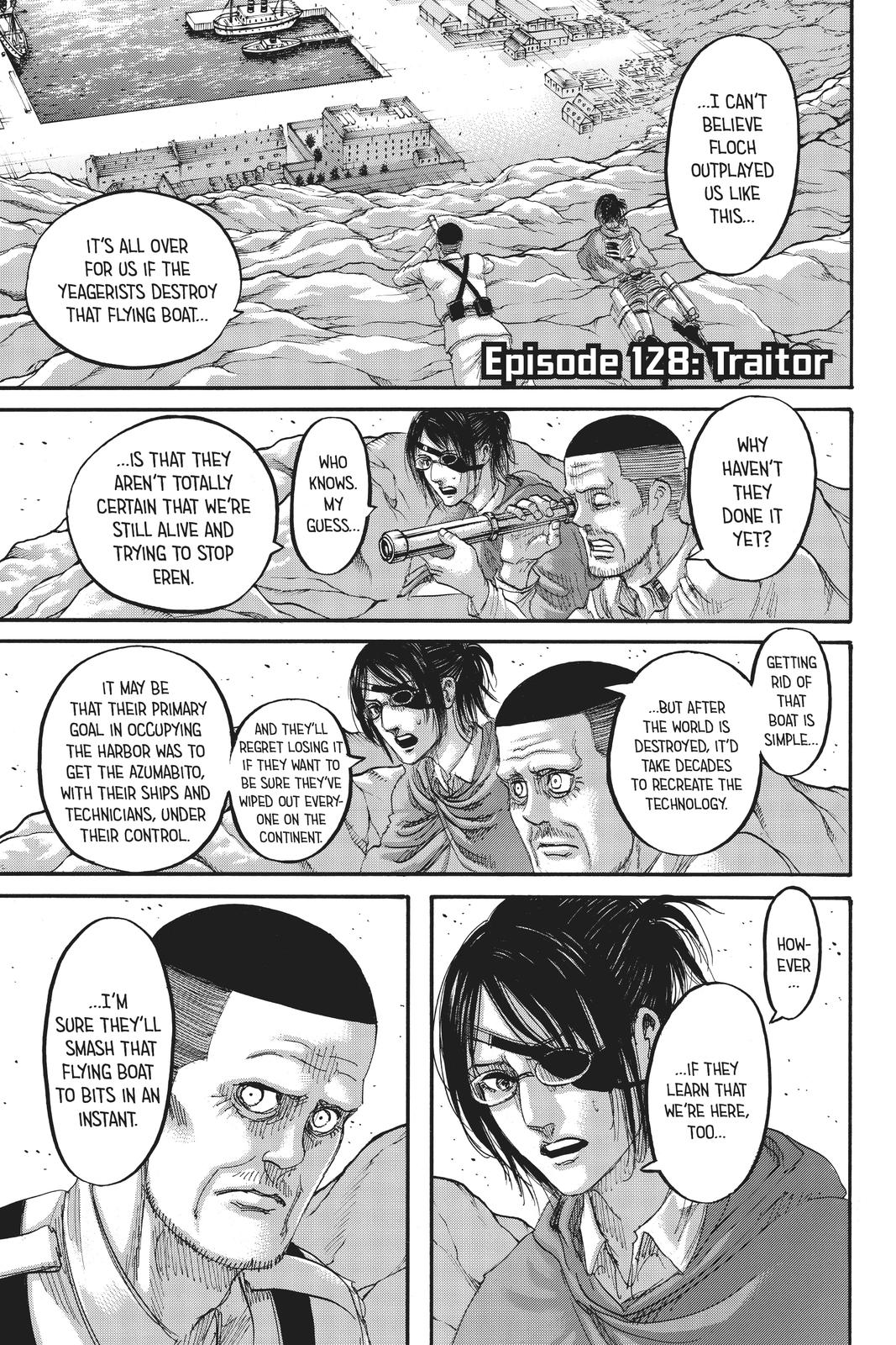 Attack On Titan, Episode 128 image 001