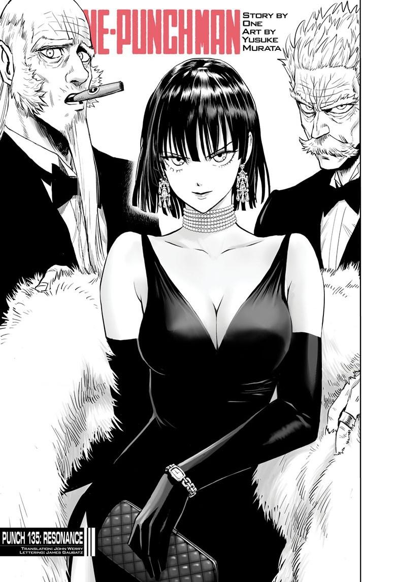 One-Punch Man, Chapter 135 image 001