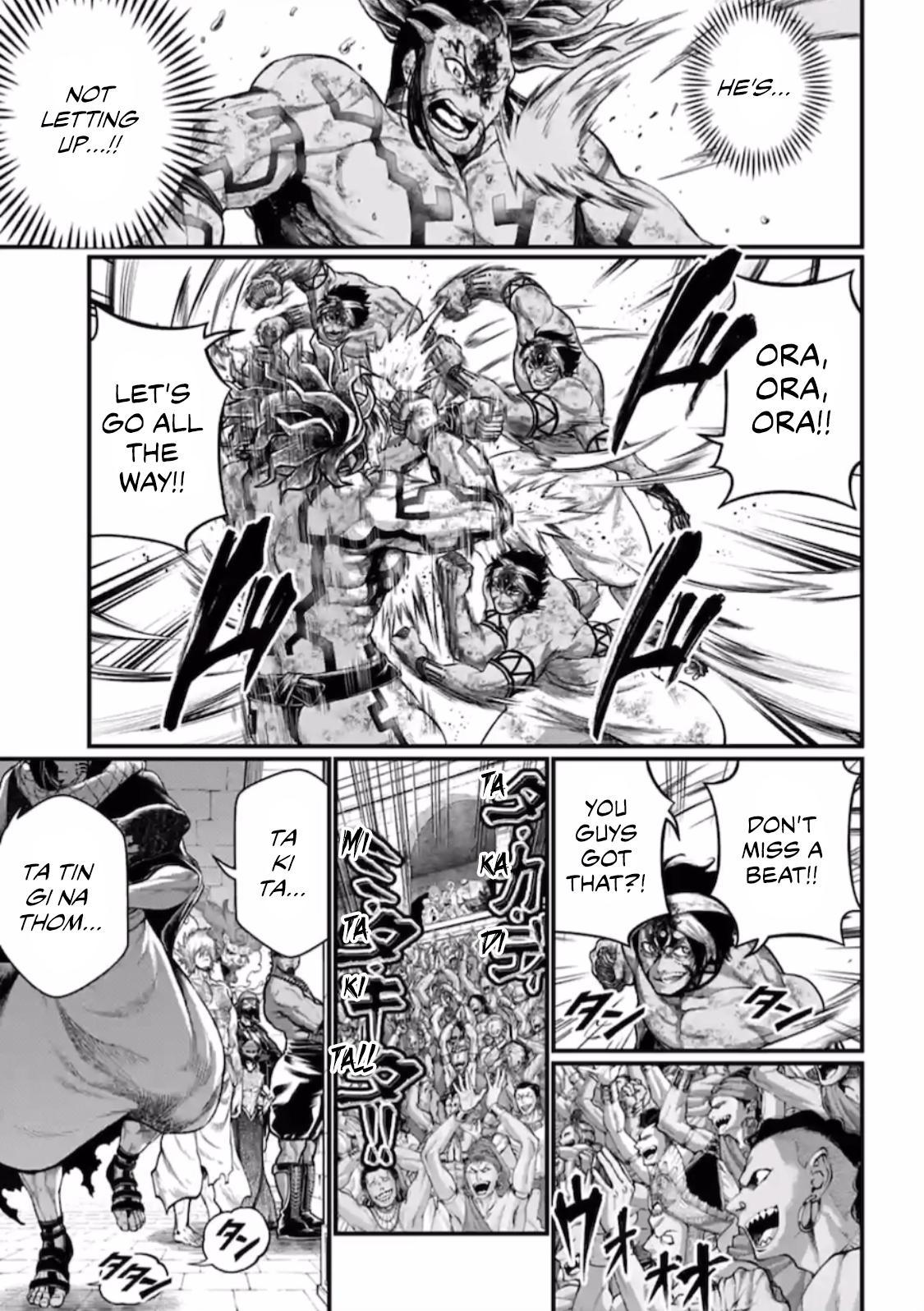 Shuumatsu no Valkyrie, Chapter 38 image 016