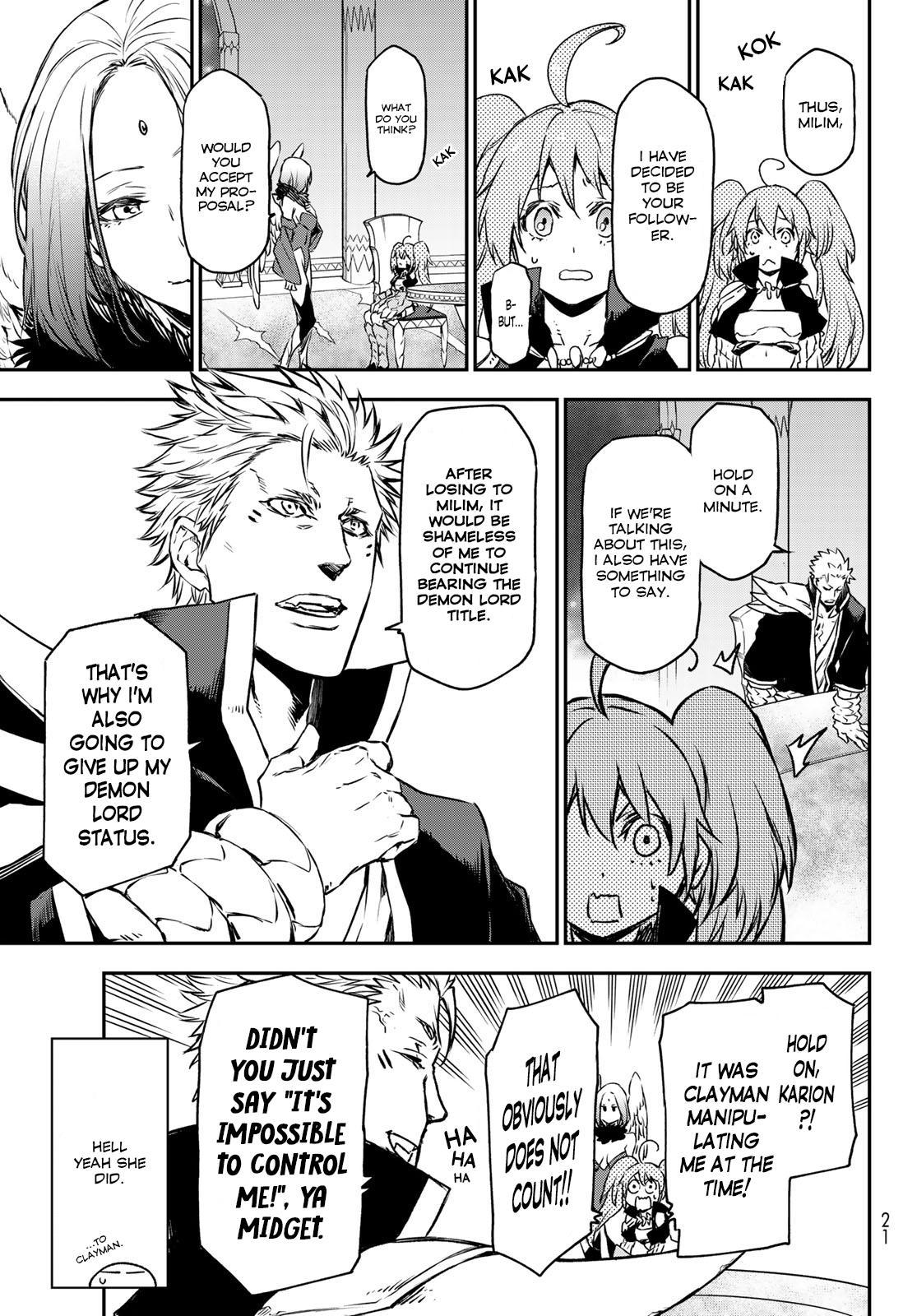 Tensei shitara Slime Datta Ken, Chapter 86 image 009