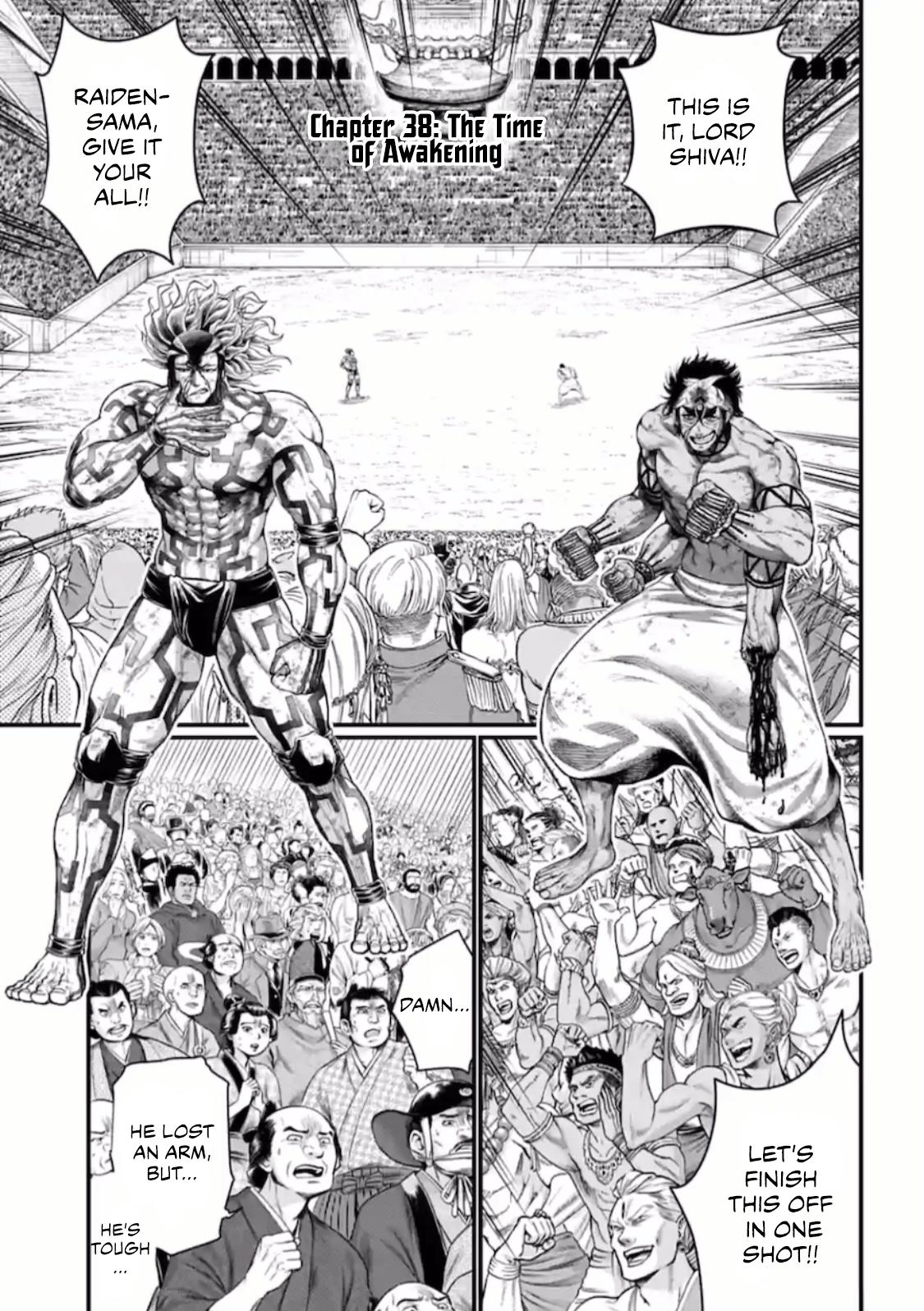 Shuumatsu no Valkyrie, Chapter 38 image 002