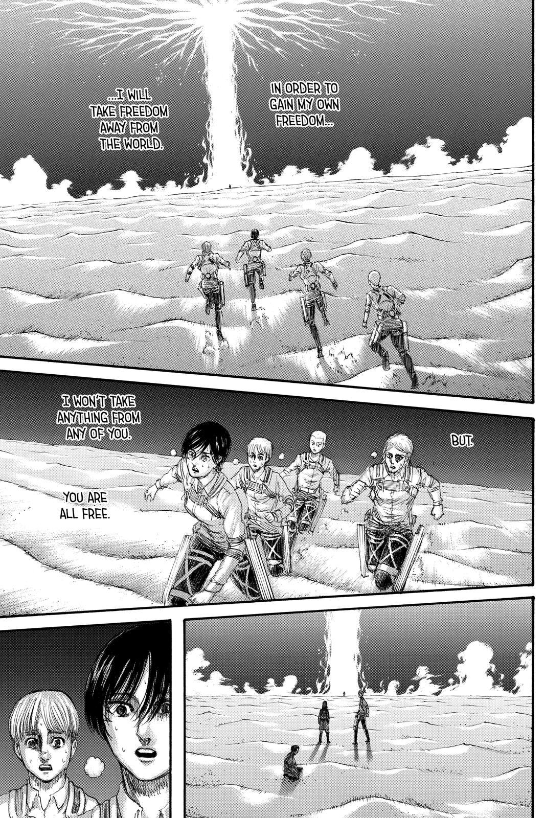 Attack On Titan, Episode 133 image 021