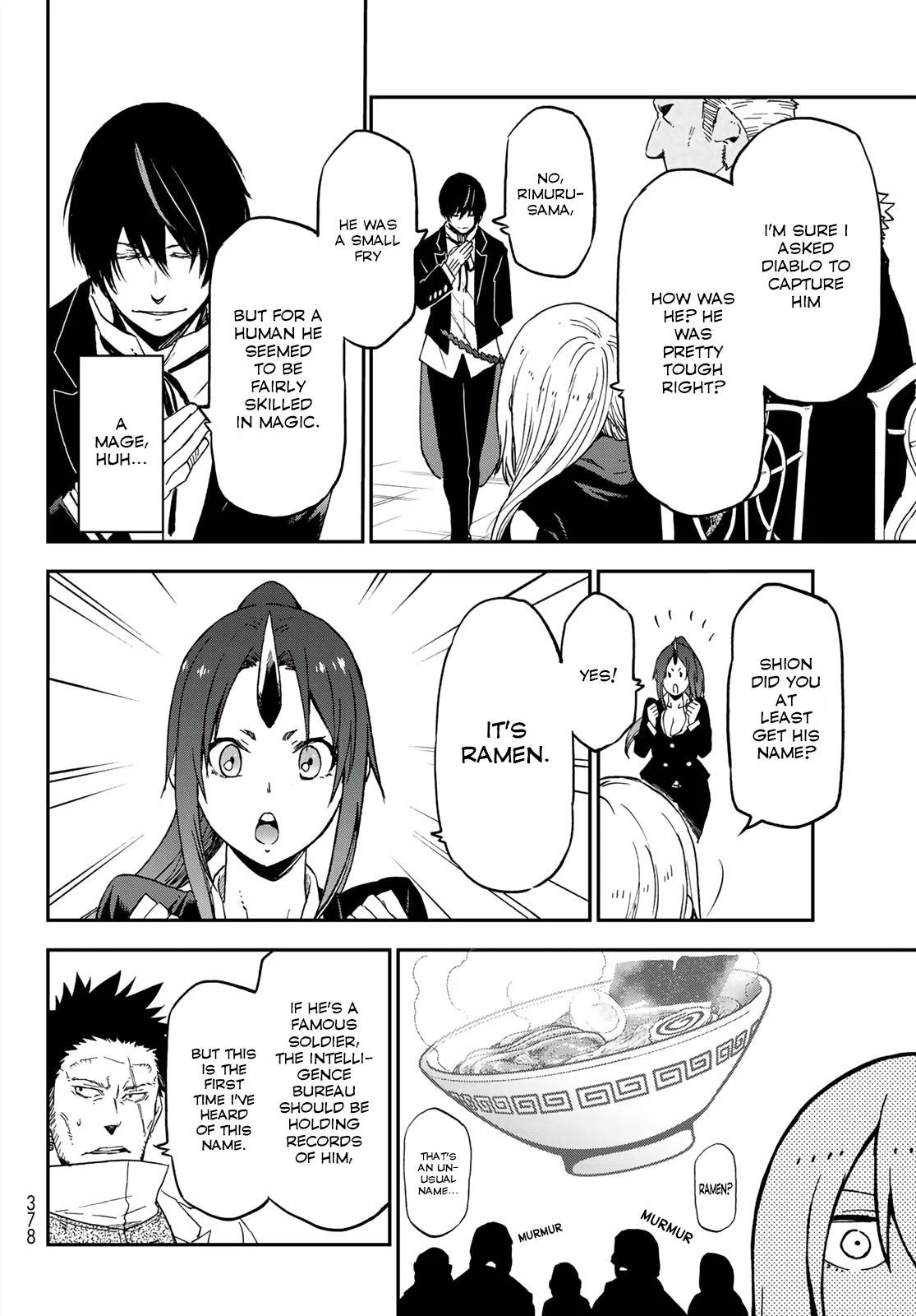Tensei shitara Slime Datta Ken, Chapter 75 image 030