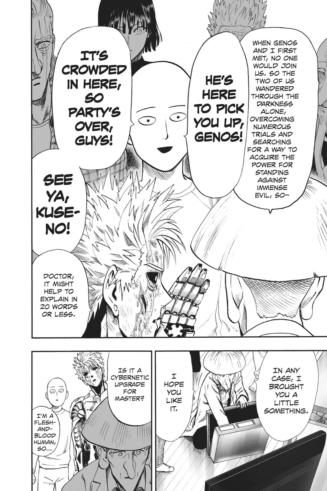 One-Punch Man, Chapter 90 image 022