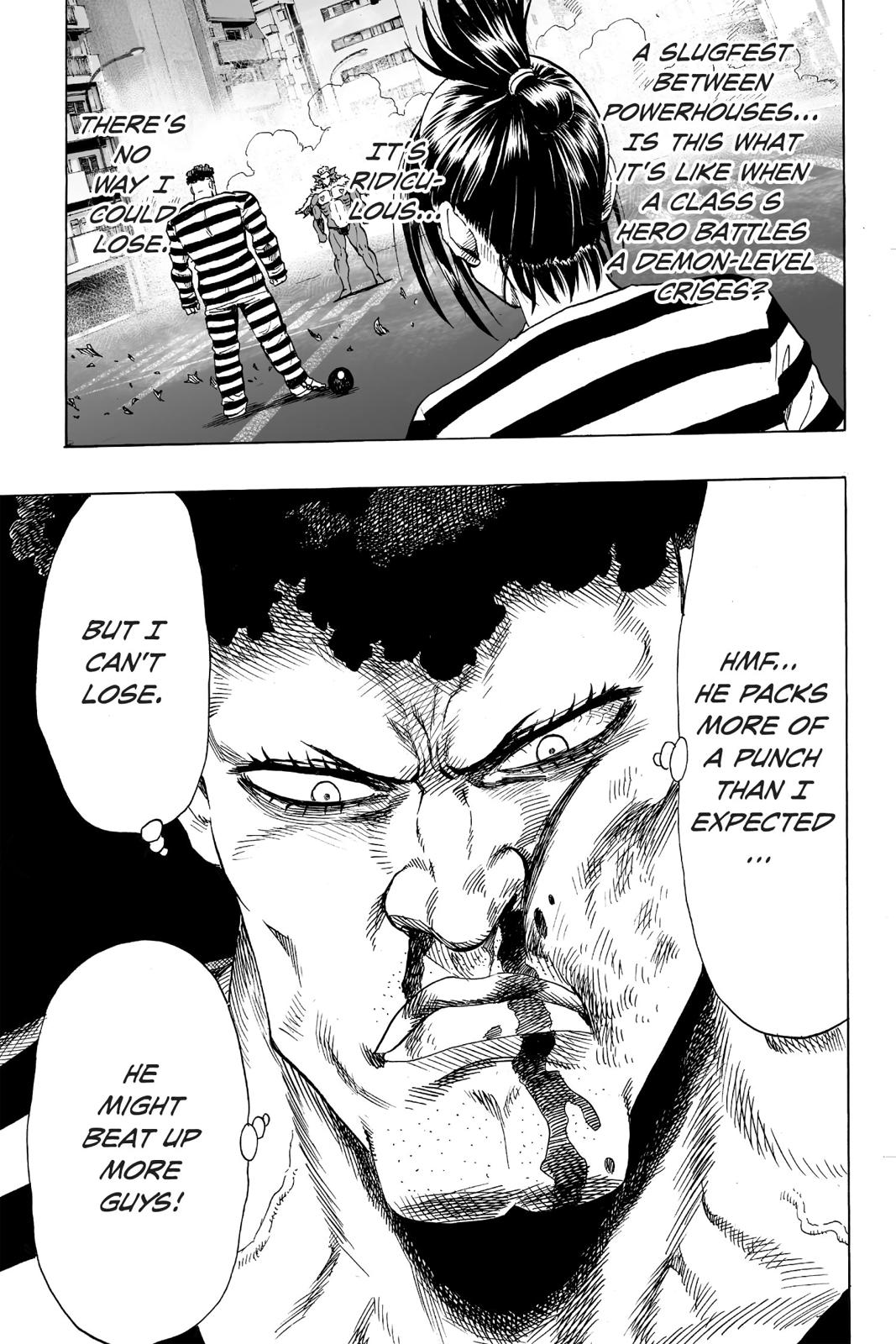 One-Punch Man, Chapter 25 image 017