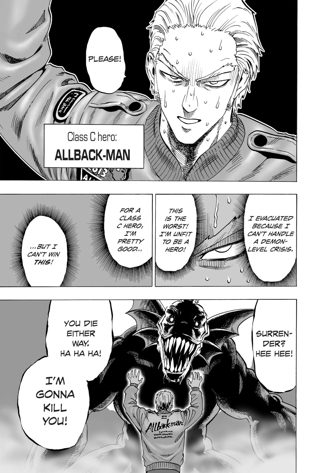 One-Punch Man, Chapter 25 image 061