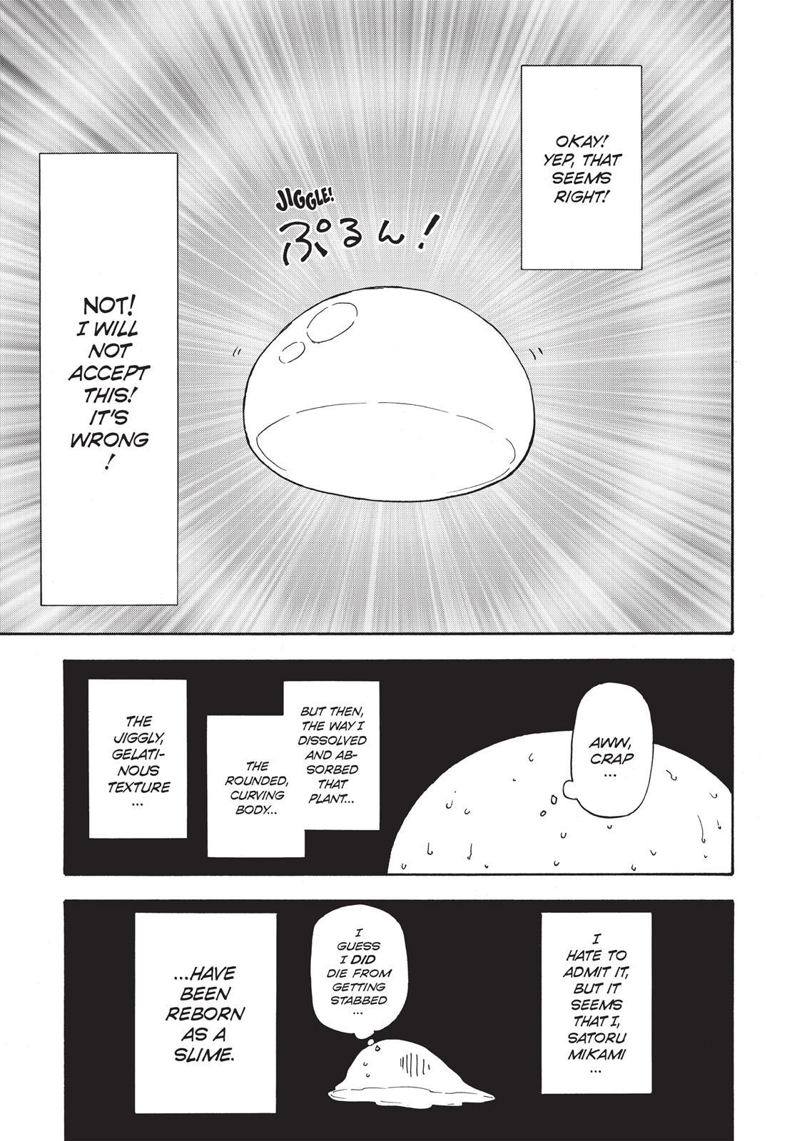 Tensei shitara Slime Datta Ken, Chapter 1 image 021