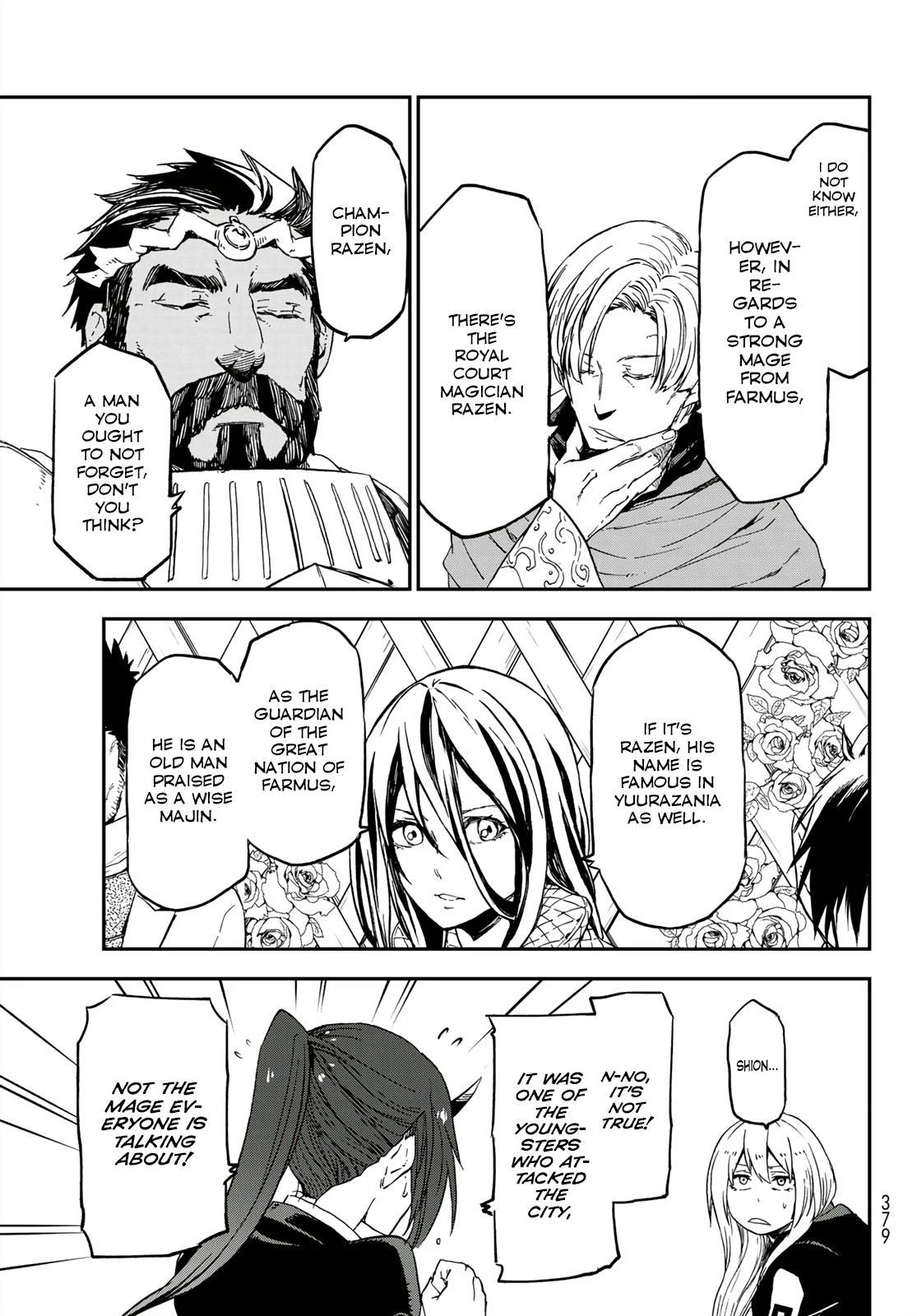 Tensei shitara Slime Datta Ken, Chapter 75 image 031