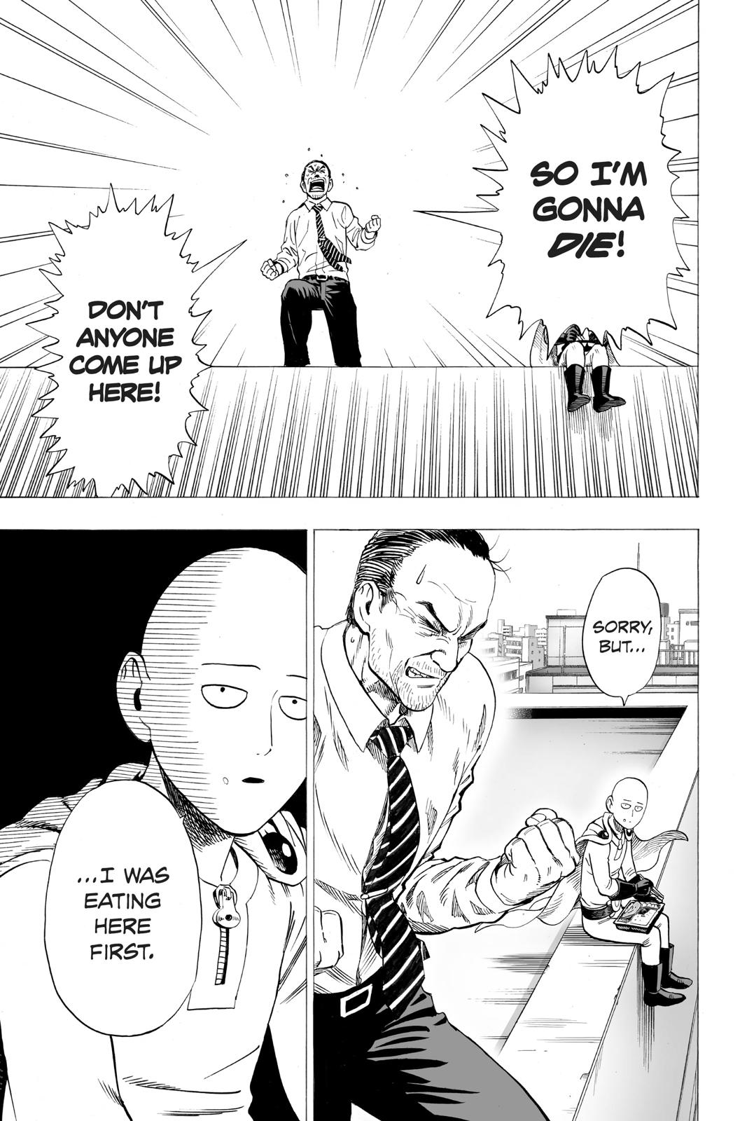 One-Punch Man, Chapter 34.5 image 003