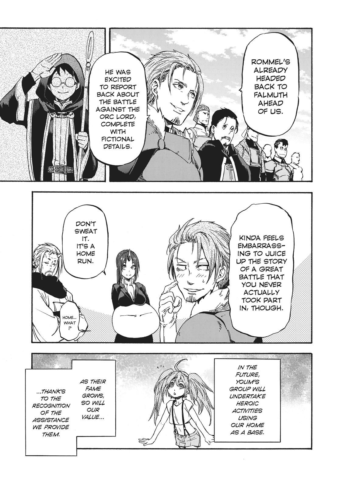Tensei shitara Slime Datta Ken, Chapter 36 image 017