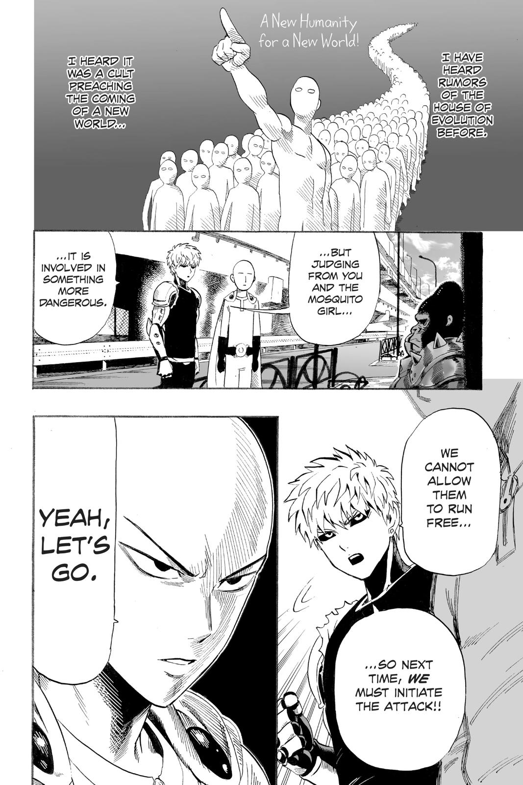 One-Punch Man, Chapter 9 image 014