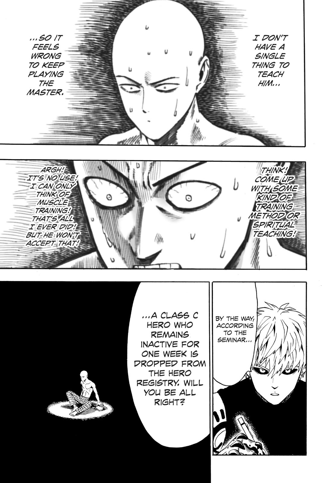 One-Punch Man, Chapter 18 image 007
