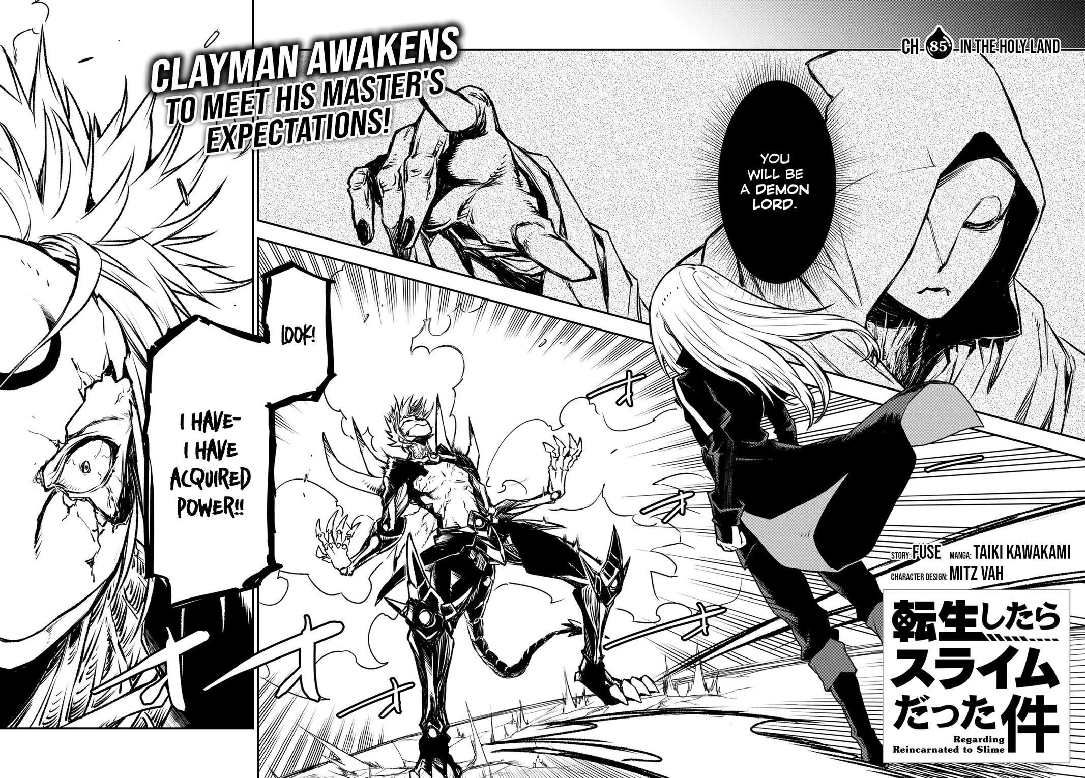 Tensei shitara Slime Datta Ken, Chapter 85 image 002