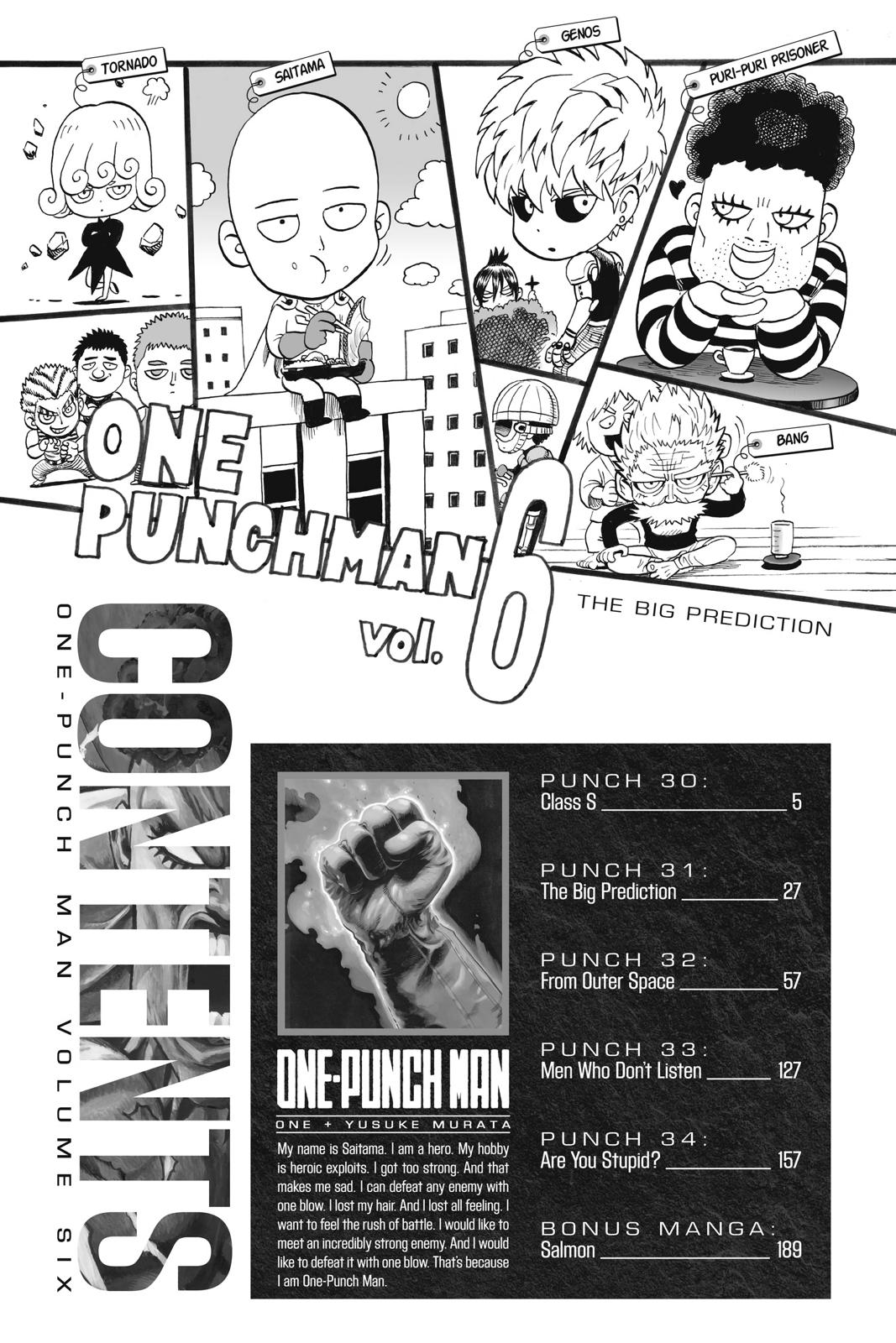 One-Punch Man, Chapter 30 image 005
