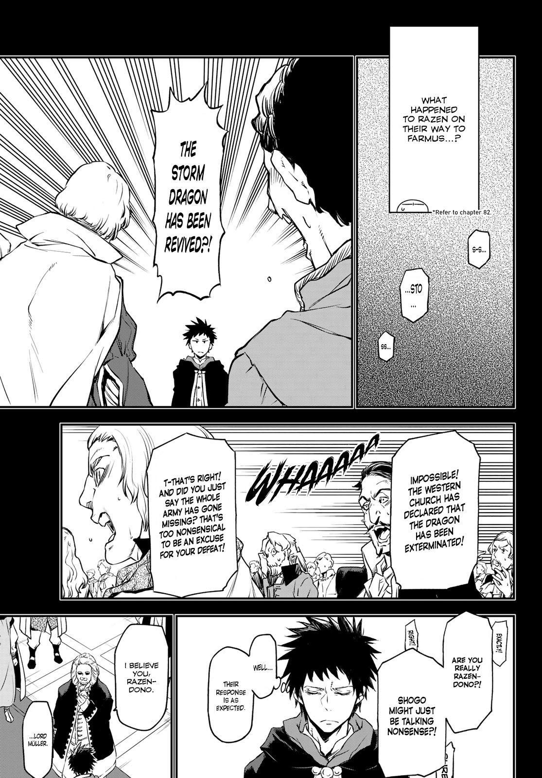 Tensei shitara Slime Datta Ken, Chapter 88 image 07