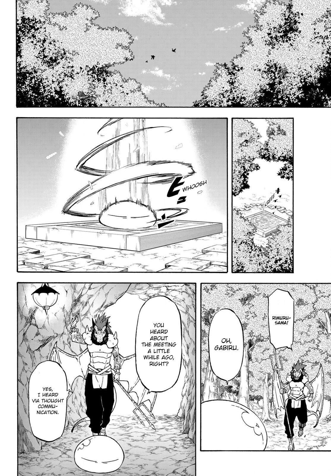 Tensei shitara Slime Datta Ken, Chapter 71 image 010
