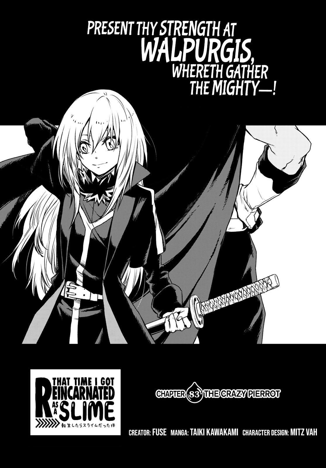 Tensei shitara Slime Datta Ken, Chapter 83 image 001