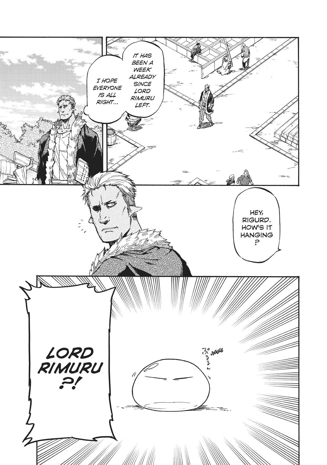 Tensei shitara Slime Datta Ken, Chapter 26 image 001