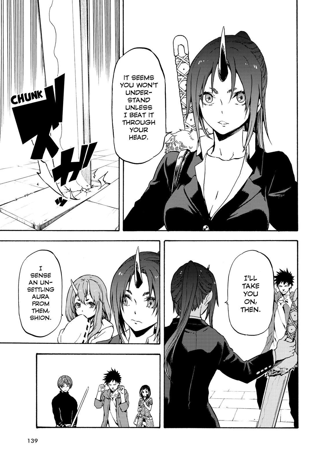 Tensei shitara Slime Datta Ken, Chapter 58 image 001