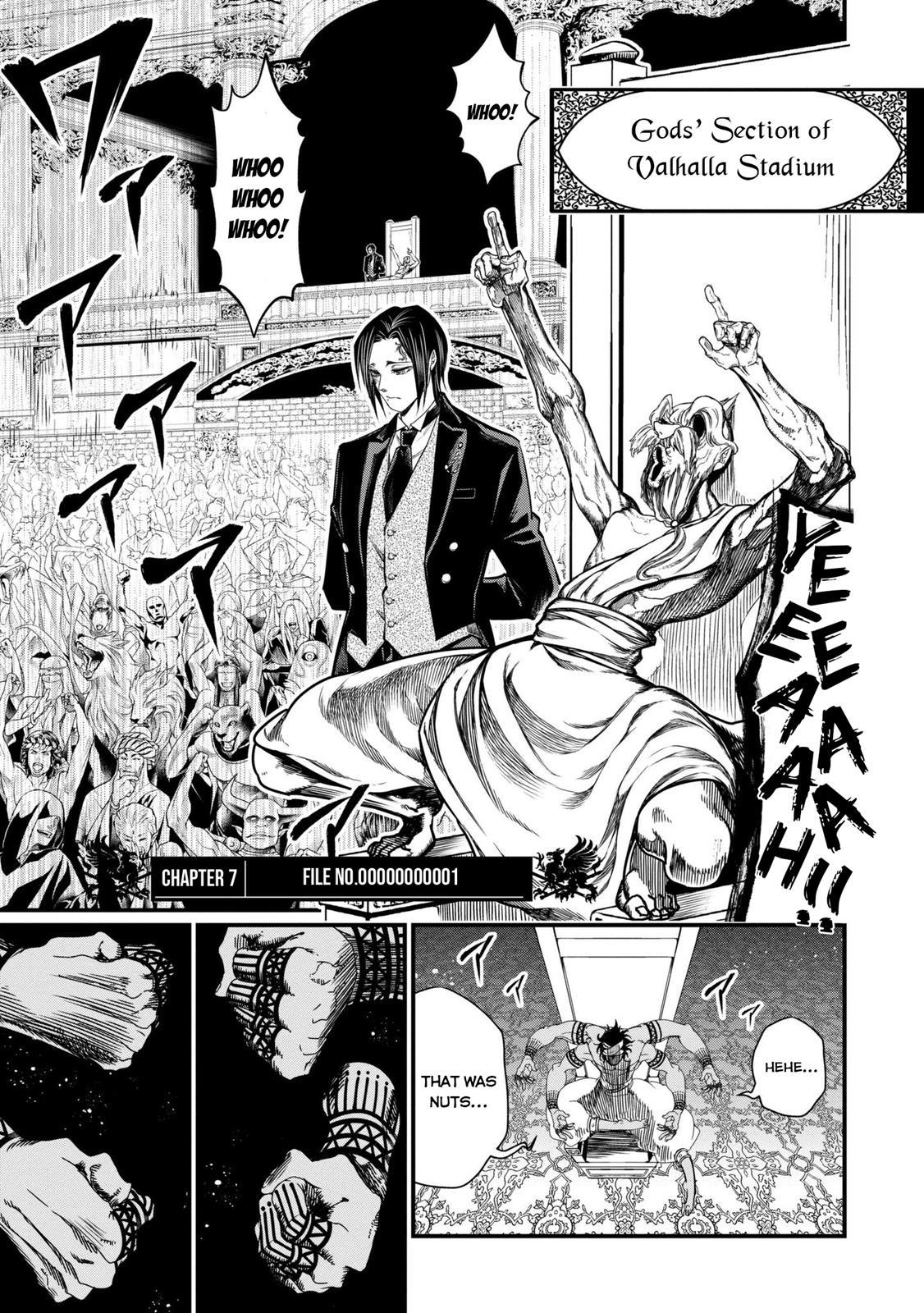 Shuumatsu no Valkyrie, Chapter 7 image 002