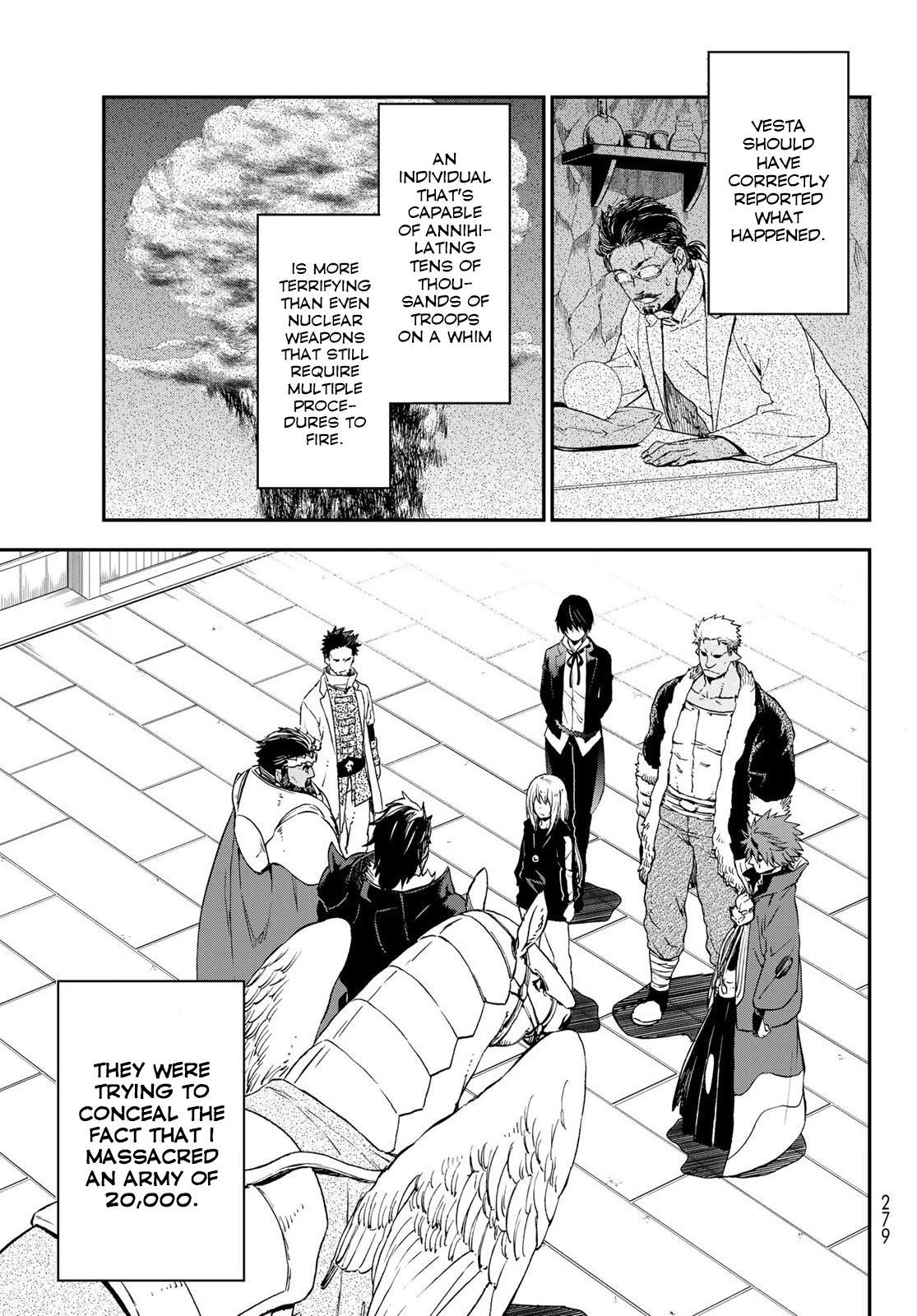 Tensei shitara Slime Datta Ken, Chapter 74 image 011