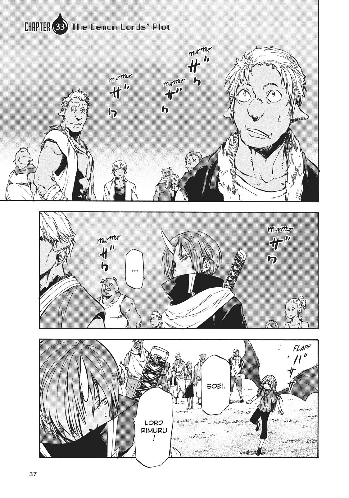 Tensei shitara Slime Datta Ken, Chapter 33 image 001