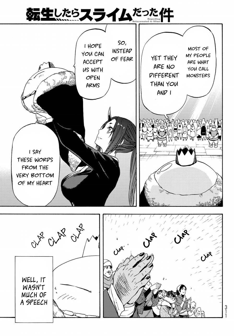 Tensei shitara Slime Datta Ken, Chapter 42 image 004