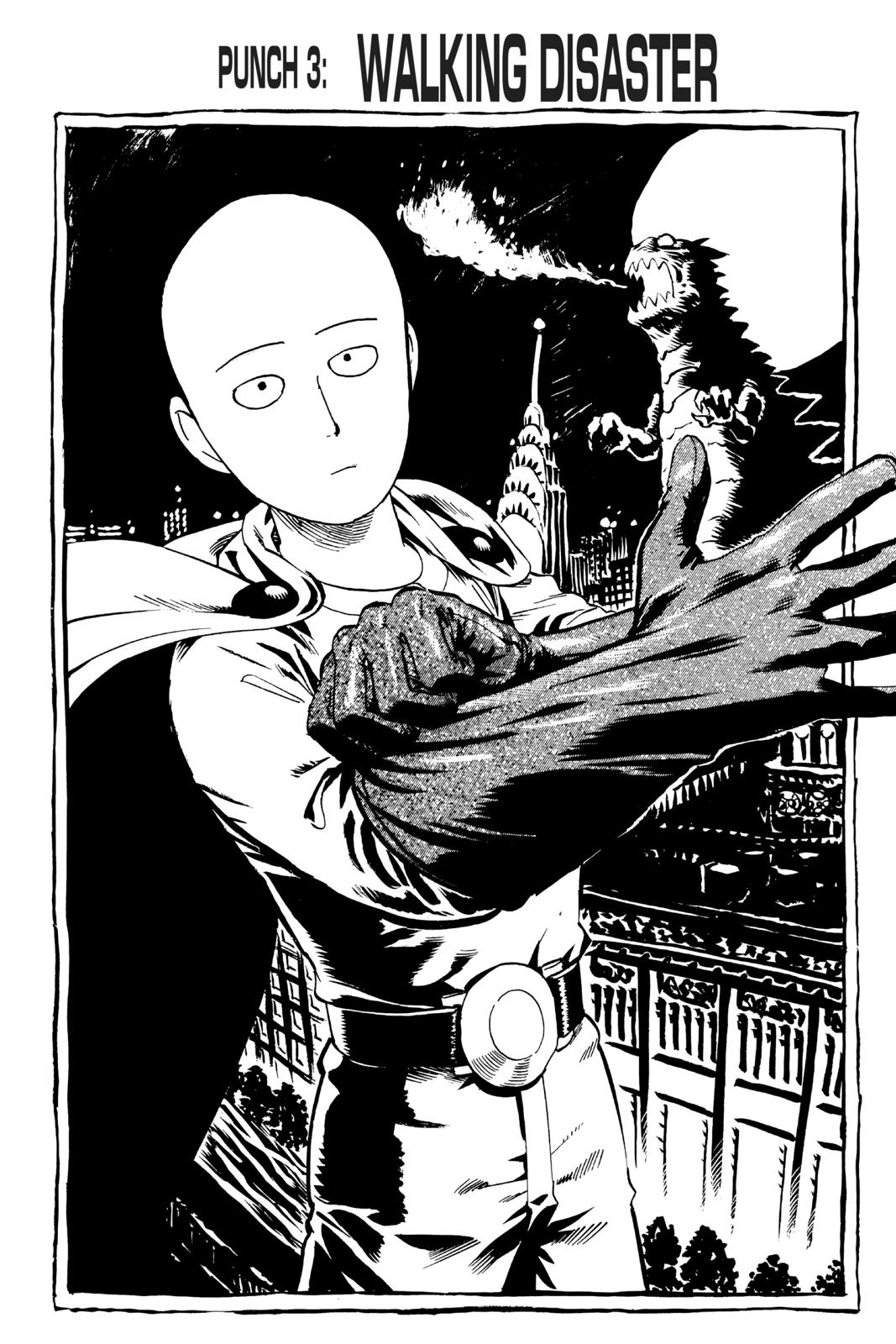 One-Punch Man, Chapter 3 image 001