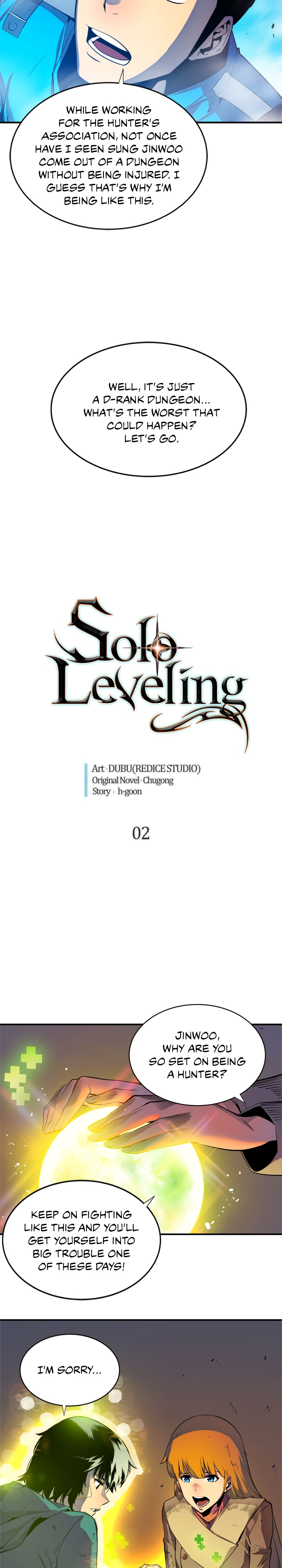 Solo Leveling, Chapter 2 image 002