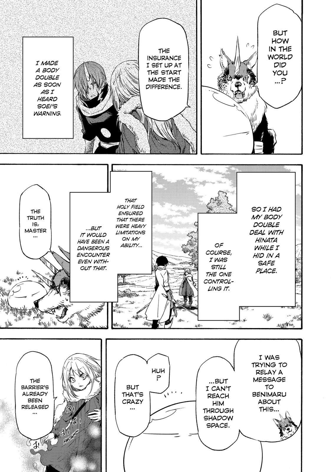 Tensei shitara Slime Datta Ken, Chapter 55 image 030