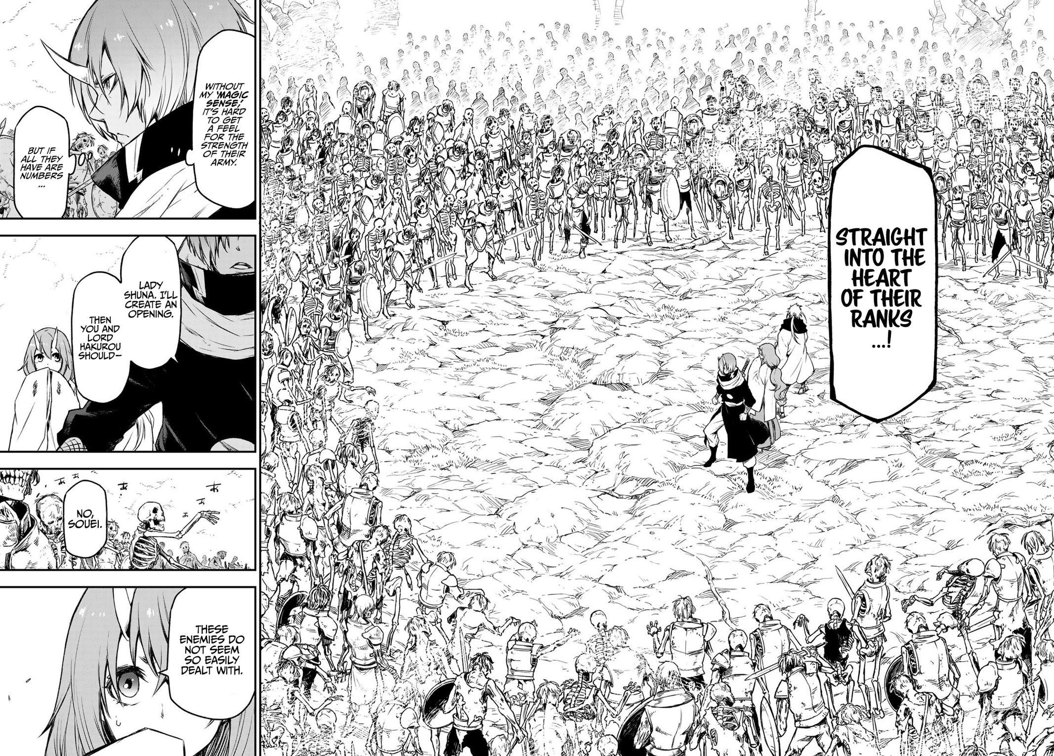 Tensei shitara Slime Datta Ken, Chapter 81 image 032