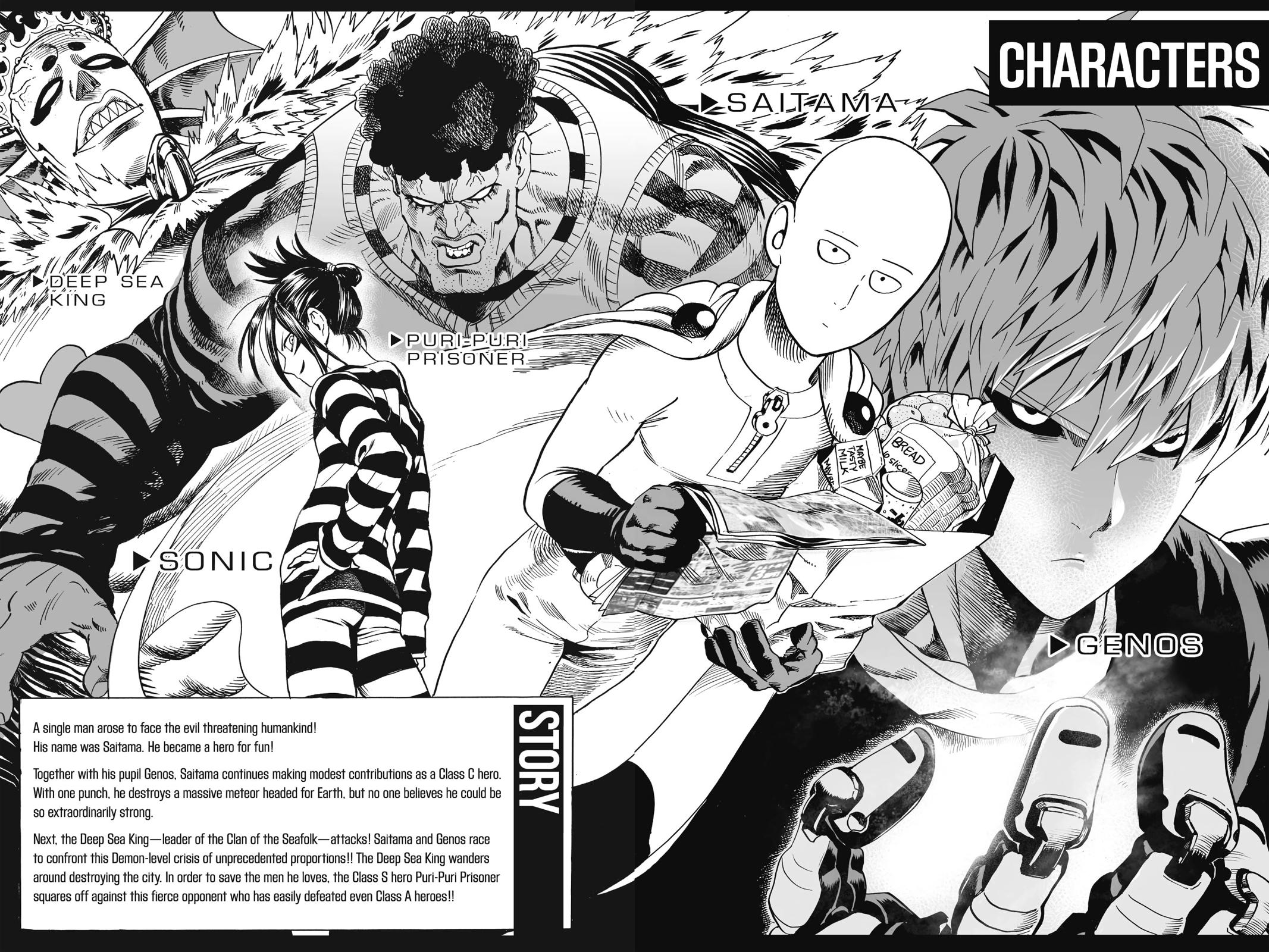 One-Punch Man, Chapter 25 image 005