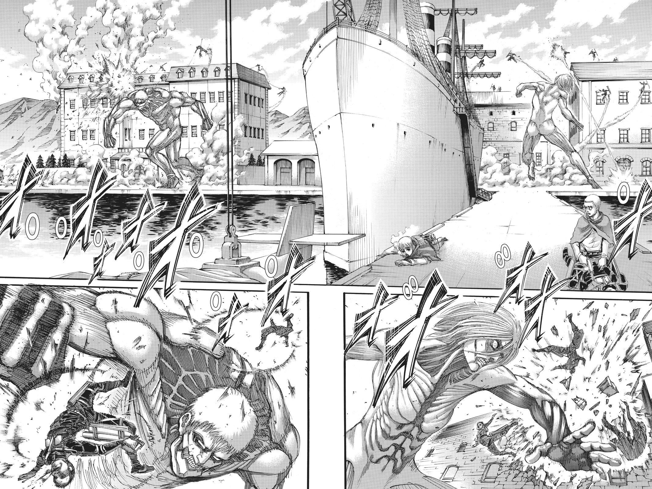 Attack On Titan, Episode 129 image 002