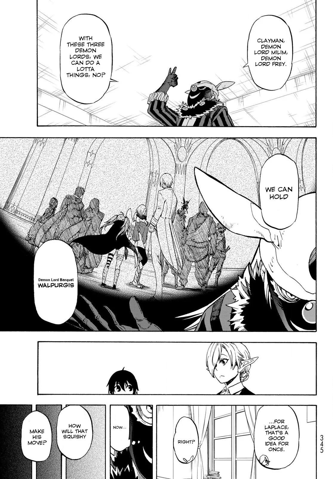 Tensei shitara Slime Datta Ken, Chapter 73 image 031