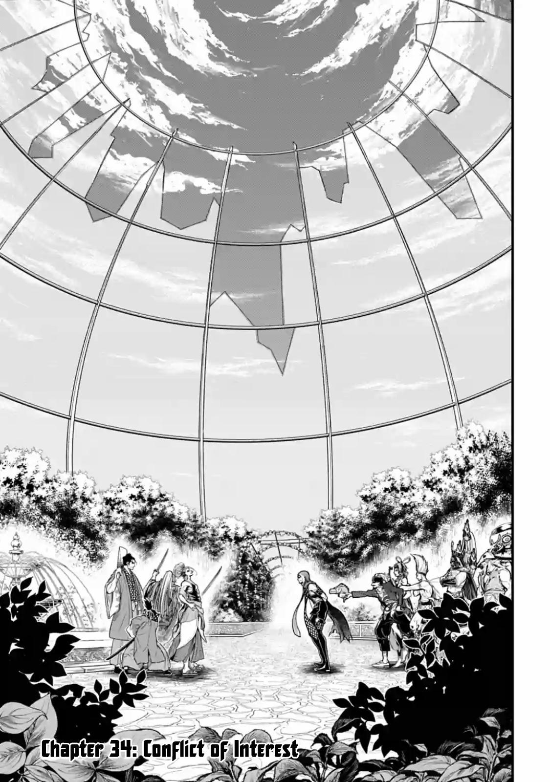Shuumatsu no Valkyrie, Chapter 34 image 001