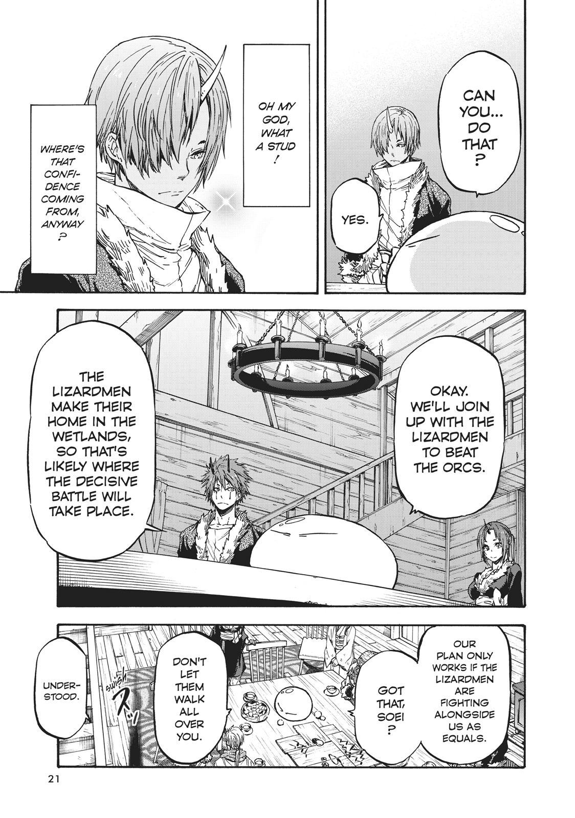 Tensei shitara Slime Datta Ken, Chapter 18 image 021